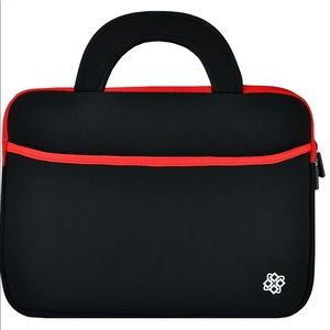 Black and Red Laptop Sleeve